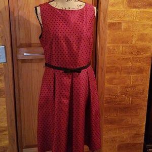 Danny and nicole Dresses - Polka dot dress size 12